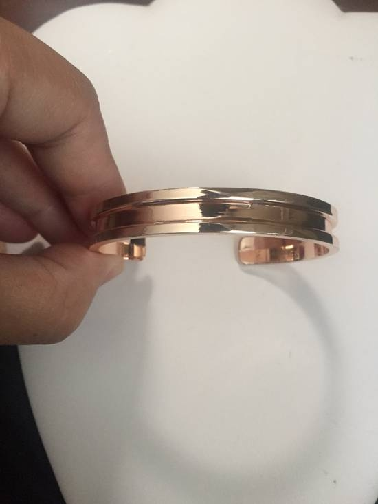 Jw Rose Gold Open Back Bangle Size ONE SIZE