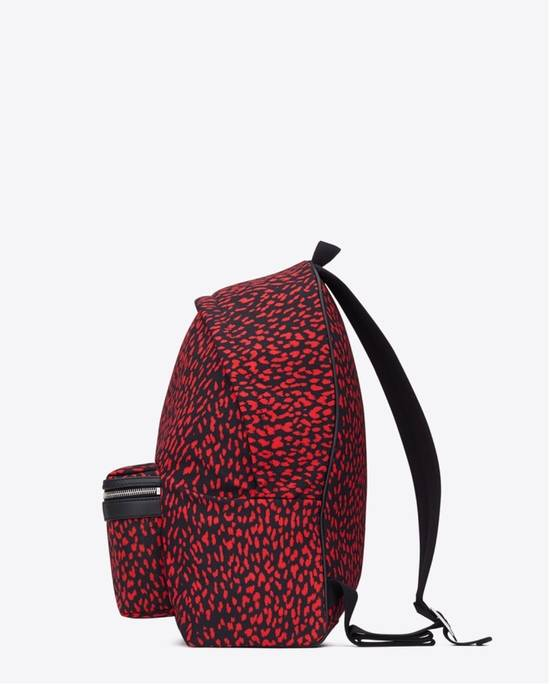 Givenchy Saint Laurent Leopard Print Backpack Size ONE SIZE - 1