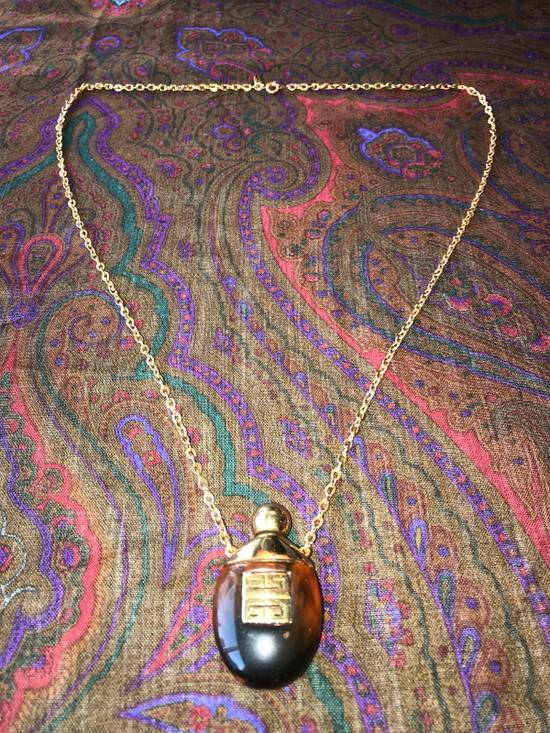 Givenchy Gold Container Necklace Size ONE SIZE