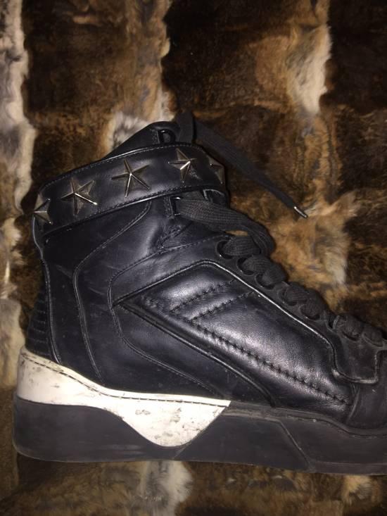 Givenchy GIVENCHY STARS LEATHER BLACK Size US 9.5 / EU 42-43 - 2