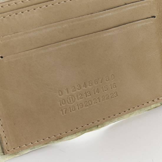 Maison Margiela MARTIN MARGIELA $11 dollar bill elastic band bifold leather wallet Size ONE SIZE - 7