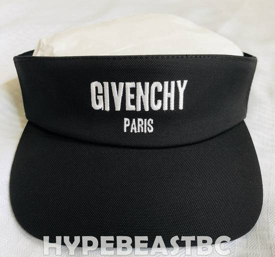 Givenchy GIVENCHY Logo Visor Hat Cap, Black, NWT, Made in Italy! Buy it now! Size ONE SIZE - 6