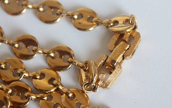 Givenchy Gold Plated Gucci-Link Chain Size ONE SIZE - 1