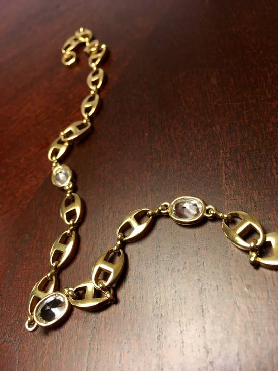 Givenchy ☠️MUST GO☠️Rare Iced Gold Necklace Size ONE SIZE - 1