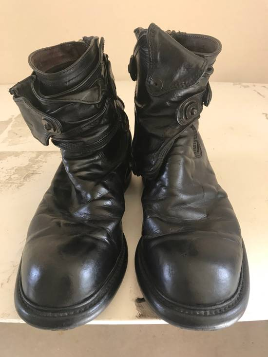 Julius AW12 gas mask removable gun holster boots Size US 9.5 / EU 42-43