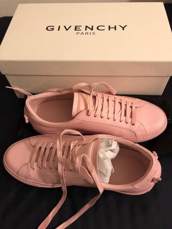 Givenchy Givenchy Pink Leather Low Top Sneaker Size US 7 / EU 40 - 1
