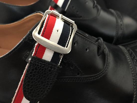 Thom Browne thom browne black pebble grain leather size 9.5US Size US 9.5 / EU 42-43 - 6