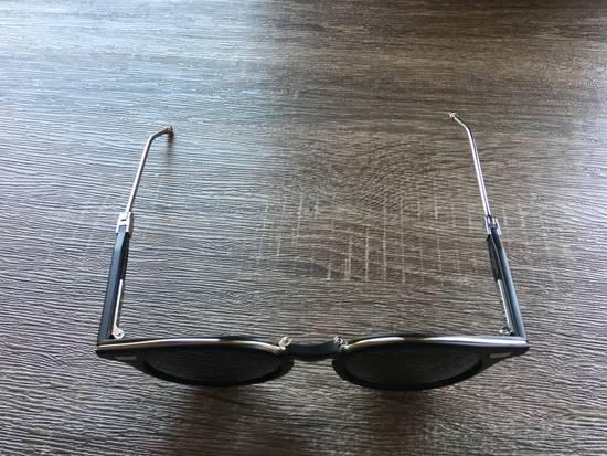 Thom Browne Thom Browne TB-808-A-BLK-SLV-48 Sunglasses Size ONE SIZE - 1