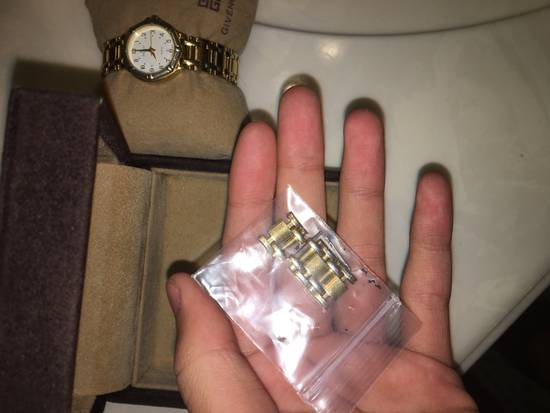 Givenchy Givenchy Gold Plated Dress Watch Size ONE SIZE - 2