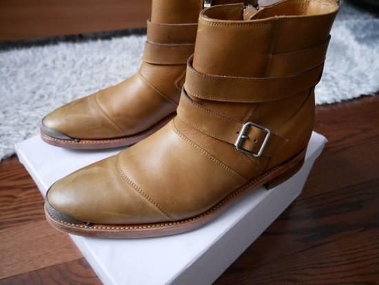 Balmain Balmain Steel Toe Boots Sz 44 (US 11) Size US 11 / EU 44 - 3