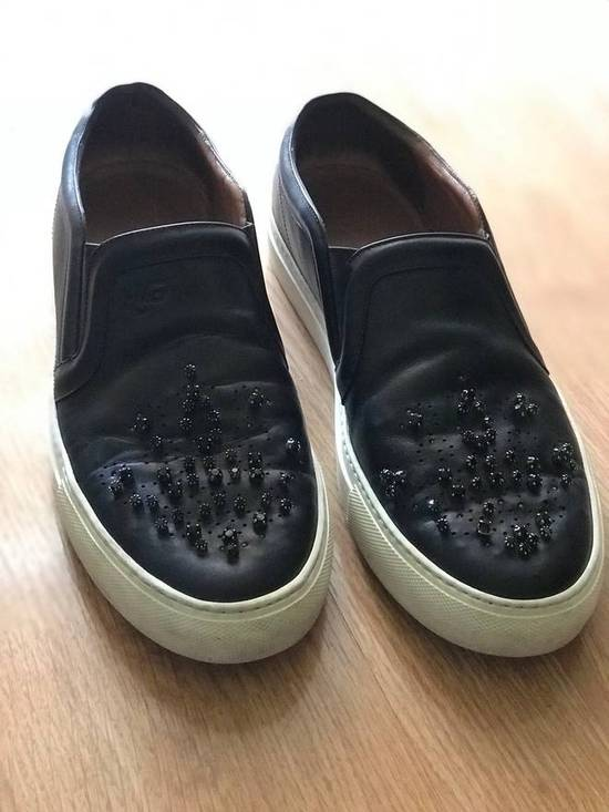 Givenchy AS-IS!! Crystal Embellished Leather Sneaker Size US 8 / EU 41 - 6