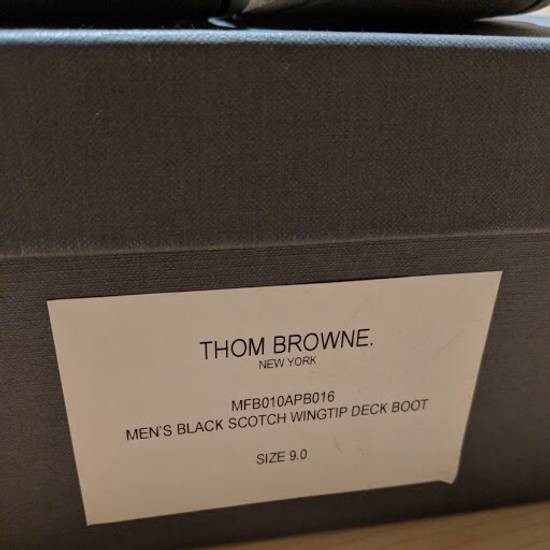 Thom Browne Wingtip Deck Boot Size US 9 / EU 42 - 1