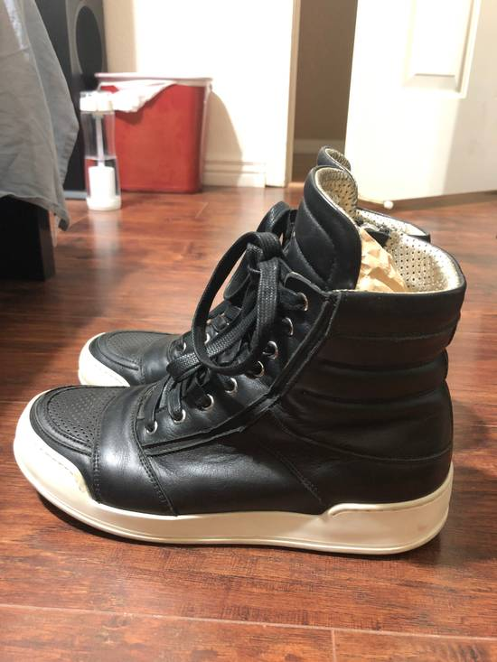Balmain Leather high top sneakers Size US 7 / EU 40 - 1