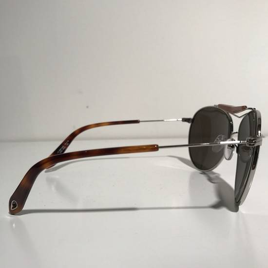 Givenchy Givenchy Aviator Sunglasses Silver Brown NIB Size ONE SIZE - 2