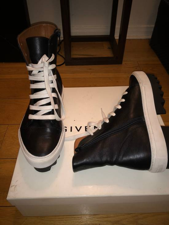 Givenchy Givenchy Leather Platform Sneaker Boot Size US 7 / EU 40 - 1