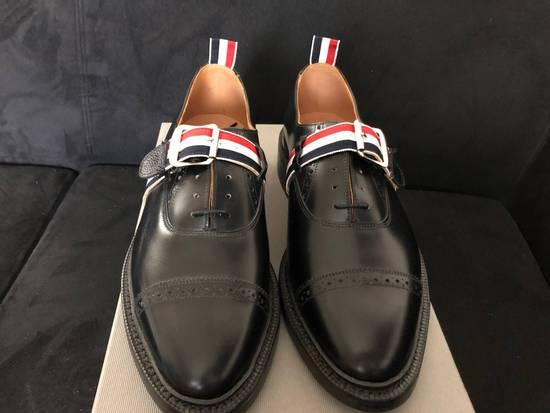 Thom Browne thom browne brogue w/GG strap & leather sole 9.5 US Size US 8 / EU 41 - 3