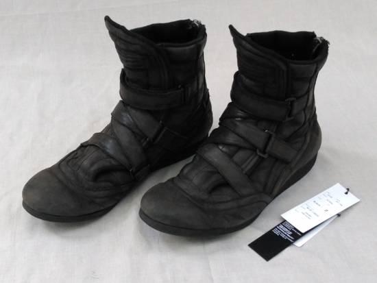 Julius Backzip Velcro Strap Leather Boots f/w11 Halo Size US 9 / EU 42
