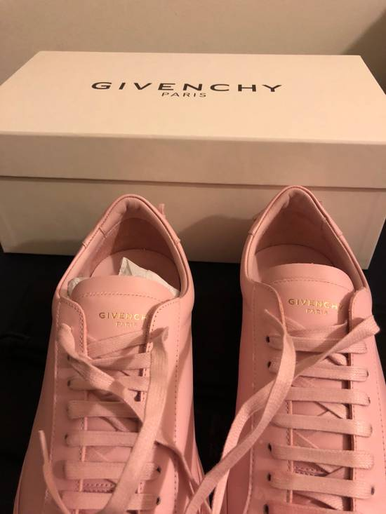 Givenchy Givenchy Pink Leather Low Top Sneaker Size US 7 / EU 40 - 4