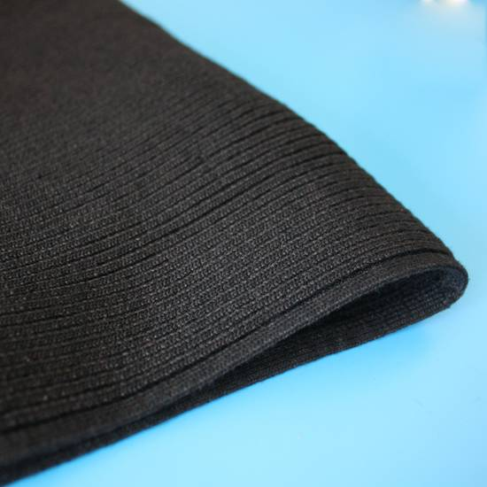 Julius Julius Black Knit Tube Beanie Size ONE SIZE - 1