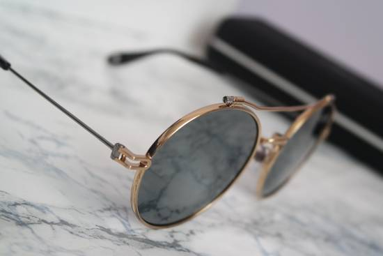 Givenchy NEW Givenchy 7079/S Gold Metal Silver Mirrored Round Sunglasses Size ONE SIZE - 10