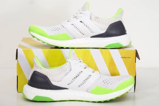 check out 7276d aa738 ... Adidas 2015 Kolor x Adidas Ultra Boost LTD 1.0 SOLAR GREEN WHITE Sz 8.5  S77419 Lime ...