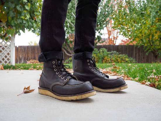 Red Wing FINAL PRICE DROP / Red Wing 9075 Classic Moc Toe Boot in Black Size US 8 / EU 41 - 6