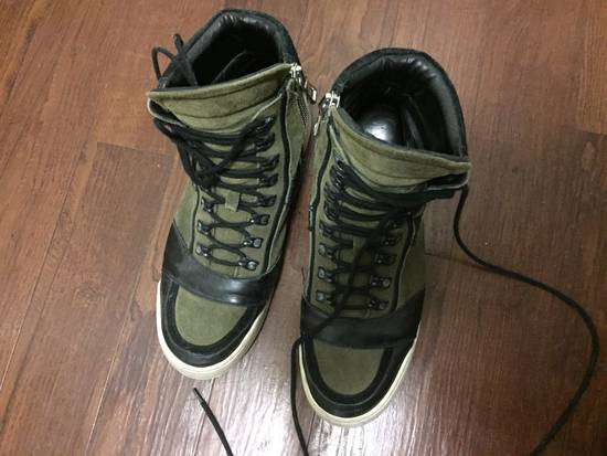 Balmain HM Balmain Hi Top Sneaker Size US 11 / EU 44 - 2