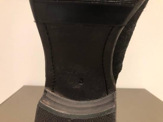 Julius Blistered Leather Back Zip Combat Boots Size US 11 / EU 44 - 10
