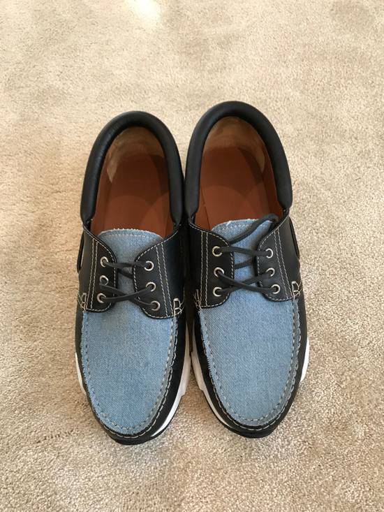 Givenchy Givenchy Denim And Black Leather Shoes Size 45 Size US 12 / EU 45 - 8