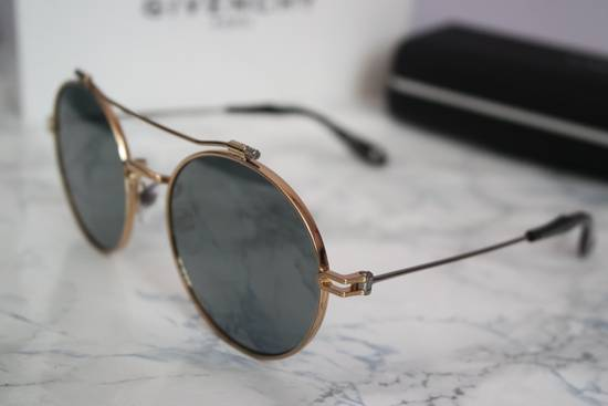 Givenchy NEW Givenchy 7079/S Gold Metal Silver Mirrored Round Sunglasses Size ONE SIZE - 9