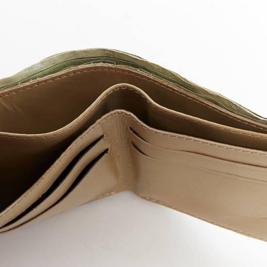 Maison Margiela MARTIN MARGIELA $11 dollar bill elastic band bifold leather wallet Size ONE SIZE - 8