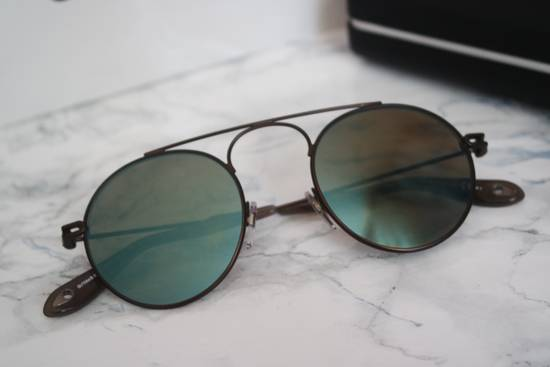 Givenchy NEW Givenchy 7054/S Bronze Blue Mirrored Round Sunglasses Size ONE SIZE - 1
