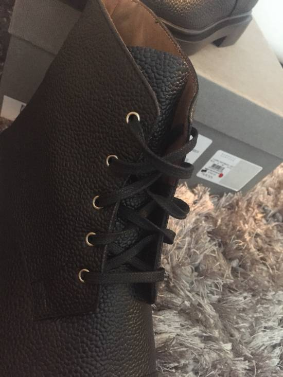 Thom Browne New $790 Pebbled Leather Boots Size US 8 / EU 41 - 15