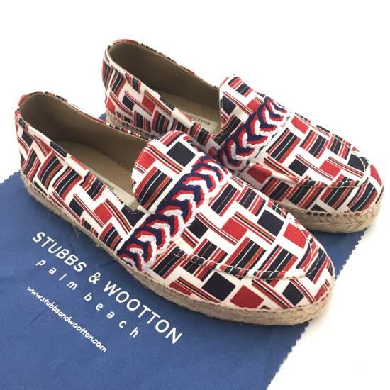 Thom Browne Flag Print Espadrille Shoes NWT Size US 9 / EU 42