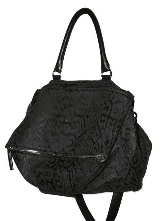 Givenchy 2011S/S Limited Edition Black Leopard Pandora Medium Shoulder Bag Size ONE SIZE