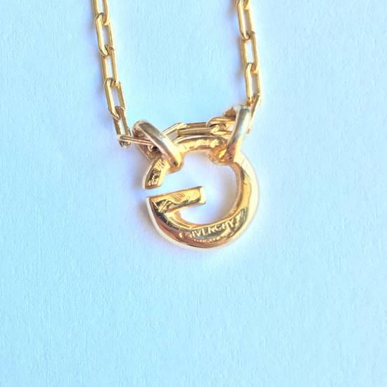 Givenchy Gold Logo Necklace Size ONE SIZE - 2