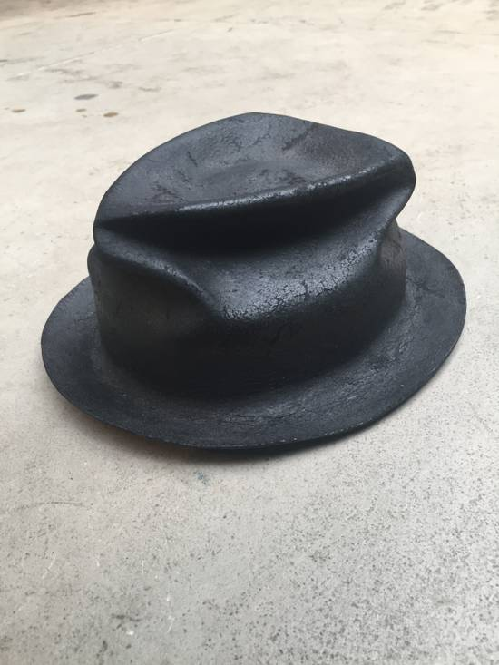Horisaki Black rabbit fur hat Size ONE SIZE - 1