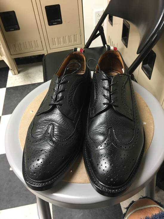 Thom Browne Thom Browne Black Wingtips Size US 8.5 / EU 41-42