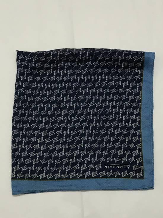 Givenchy Handky Bandana Givenchy Small Logo Full print Navy Blue Size ONE SIZE - 1