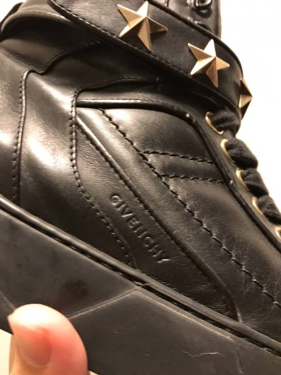 Givenchy Tyson Star Sneaker Black Gold Star Size US 11 / EU 44 - 1