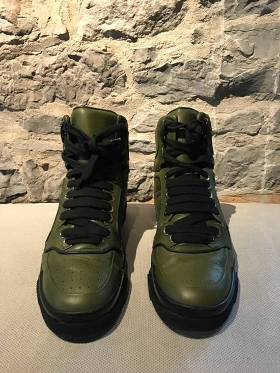 Givenchy Givenchy Green Tyson High-Top Sneakers Size US 11 / EU 44 - 1