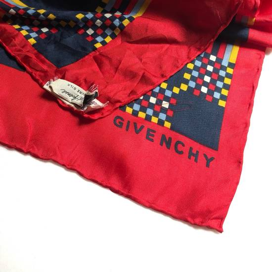 Givenchy Givenchy silk muffler retro style 80s 90s made in japan /luxury brand/baroque style/summer scarf/celine/ Size ONE SIZE - 2