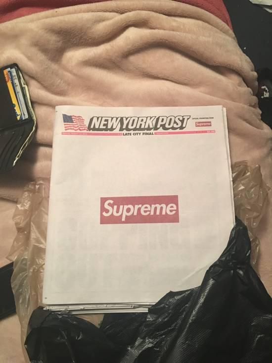 Supreme Supreme Newspaper Size ONE SIZE - 1