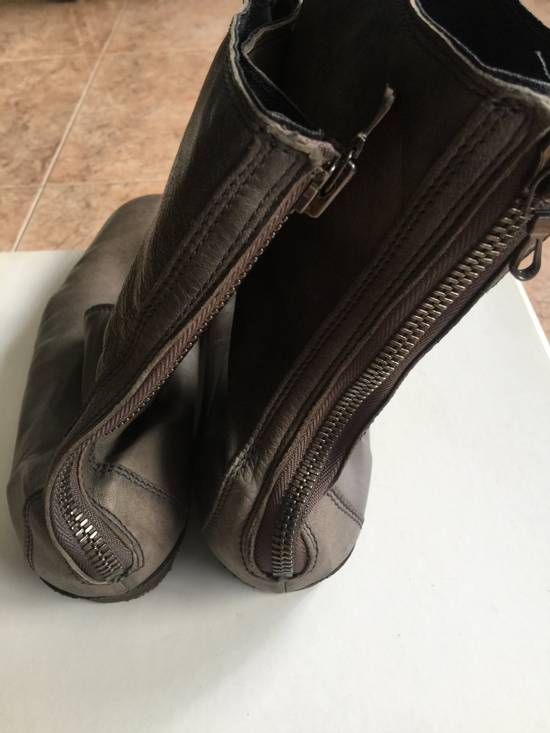 Julius AW10 grey slim boots Size US 10 / EU 43 - 2