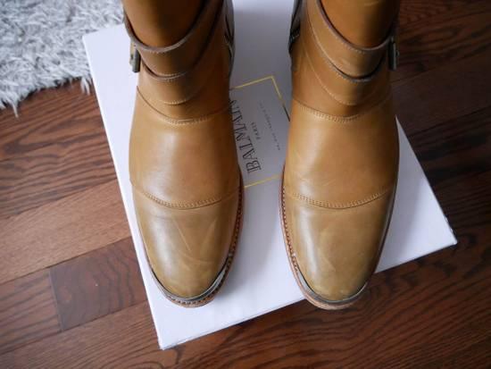 Balmain Balmain Steel Toe Boots Sz 44 (US 11) Size US 11 / EU 44 - 2