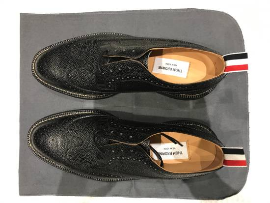 Thom Browne Classic Brogues with Gum Sole in Pebble Grain Size US 7 / EU 40 - 4