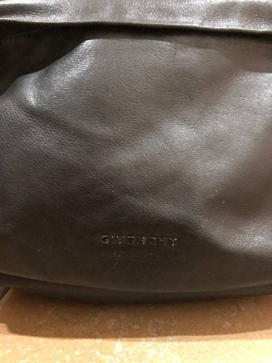 Givenchy Black On Black Leather Backpack With Metalware Size ONE SIZE - 2