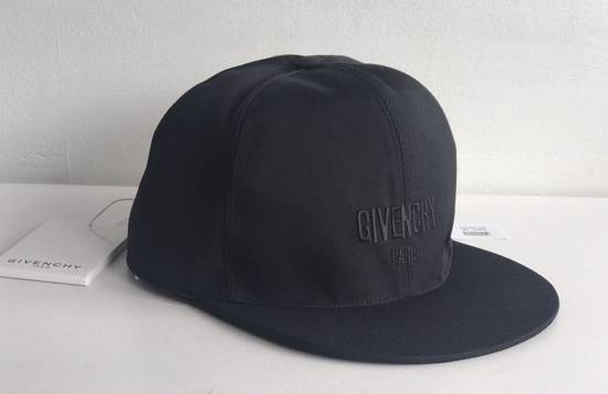 Givenchy star print cotton baseball hat black Size ONE SIZE - 2