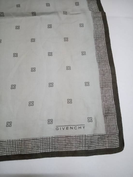 Givenchy Final drop before delete Handky Bandana Givenchy Small Logo Full print Grey Size ONE SIZE - 1