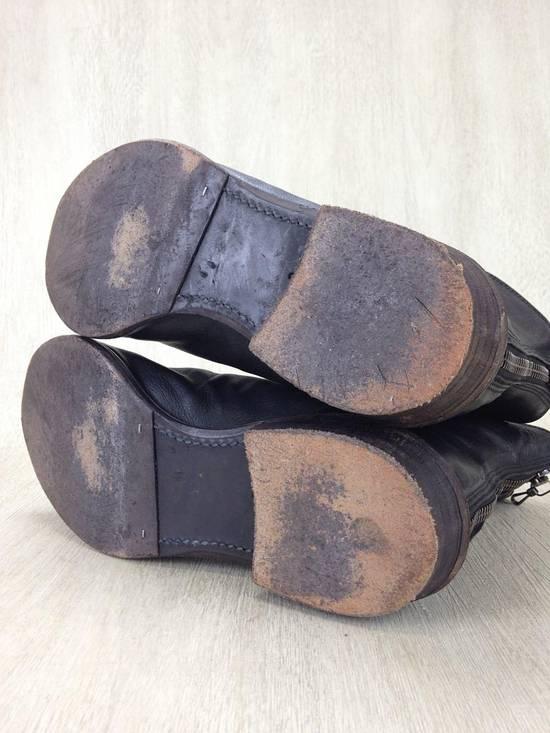 Julius ARCHIVE FW09 Front Zip Boots Size 2//9.5-10 Great Condition Size US 9.5 / EU 42-43 - 3
